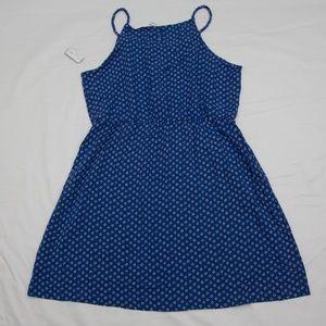 Old Navy Dresses - Royal blue floral print sundress spaghetti strap